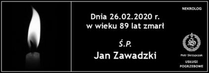 Ś.P. Jan Zawadzki