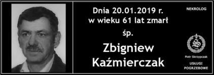 Ś.P. Zbigniew Kaźmierczak