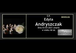 Ś.P. Edyta Andryszczak