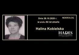 Ś.P. Halina Kobielska