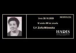 Ś.P. Zofia Milewska