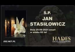 Ś.P. Jan Stasiłowicz