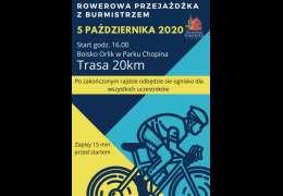 2020-10-05 Rowerowa przejażdżka z Burmistrzem