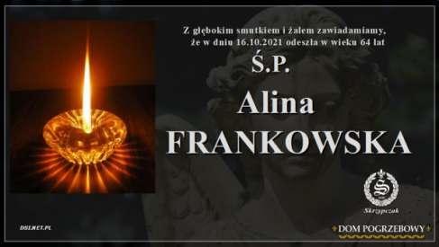 Ś.P. Alina Frankowska