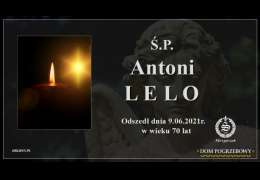 Ś.P. Antoni Lelo