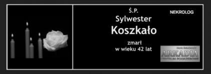 Ś.P. Sylwester Koszkało