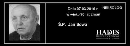 Ś.P. Jan Sowa