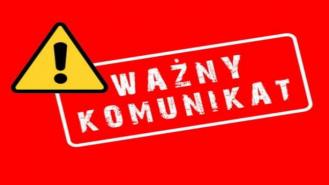 Komunikat Komendy Powiatowej Państwowej Straży Pożarnej w Drawsku Pomorskim