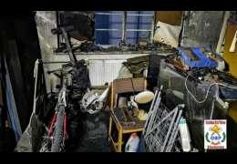 Spalił się dom w Złocieńcu. Dzieci zbierają fundusze na remont domu rodziców