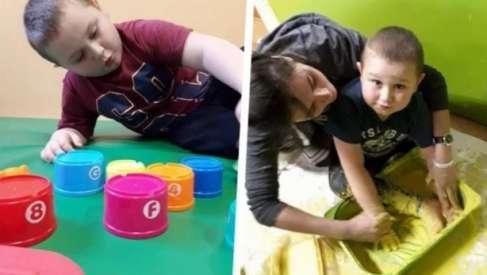 Siedmioletni Maks ze Złocieńca potrzebuje na turnus rehabilitacyjny