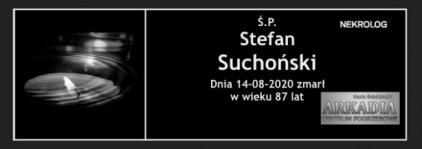 Ś.P. Stefan Suchoński