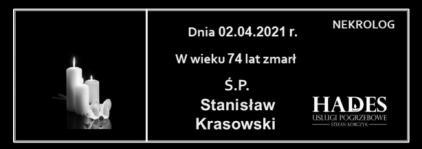 Ś.P. Stanisław Krasowski