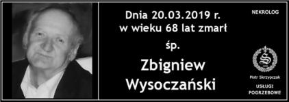 Ś.P. Zbigniew Wysoczański