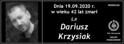 Dariusz Krzysiak