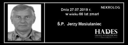 Ś.P. Jerzy Masiulaniec
