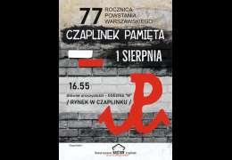 """2021-08-01 Godzina """"W"""" w Czaplinku"""