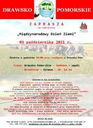 """2021-10-03 Rajd pieszy """"Międzynarodowy Dzień Ziemi"""""""