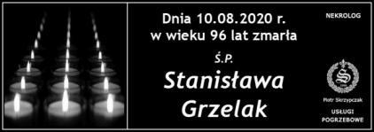 Ś.P. Stanisława Grzelak