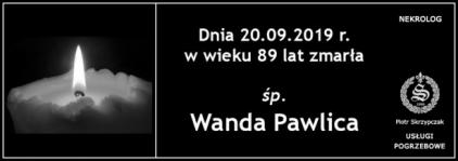 Ś.P. Wanda Pawica