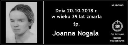 Ś.P. Joanna Nogala