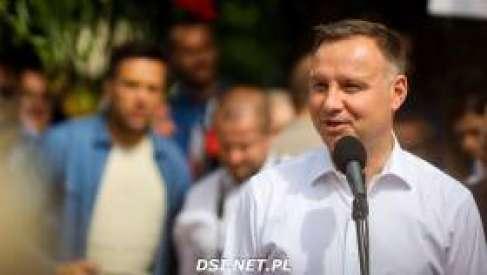 Wybory prezydenckie: Prezydent Andrzej Duda z wizytą w Drawsku Pomorskim – zdjęcia