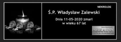 Ś.P. Władysław Zalewski