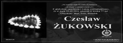 Ś.P. Czesław Żukowski