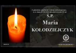 Ś.P. Maria Kołodziejczyk