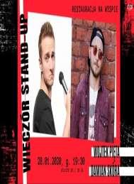 2020-01-28 Drawsko / Stand-Up / Wojtek Pięta, Damian Skóra