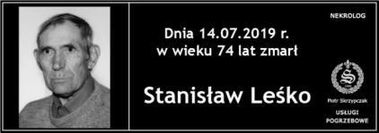 Ś.P. Stanisław Leśko