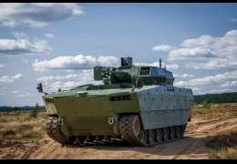 Nowy pojazd opancerzony piechoty badany na drawskim poligonie przez ZBIAM