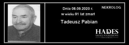 Tadeusz Pabian