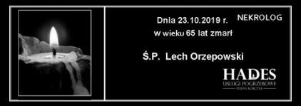 Ś.P. Lech Orzepowski