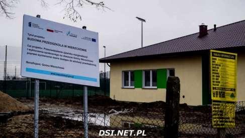 Nowe przedszkole i przebudowy dróg