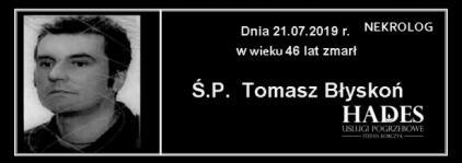 Ś.P. Tomasz Błyskoń
