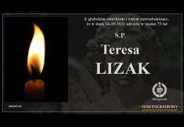 Ś.P. Teresa Lizak