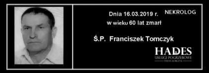 Ś.P.  Franciszek Tomczyk