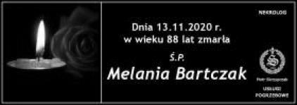 Ś.P. Melania Bartczak