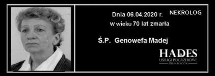 Ś.P. Genowefa Madej