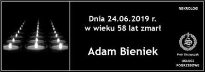 Ś.P. Adam Bieniek
