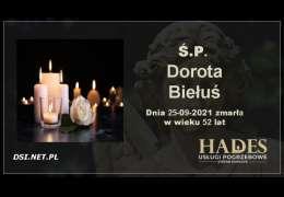 Ś.P. Dorota Biełuś