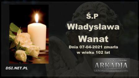 Ś.P. Władysława Wanat