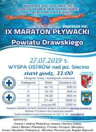 2019-07-27 IX Maraton Pływacki Powiatu Drawskiego