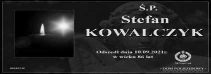 Ś.P. Stefan Kowalczyk