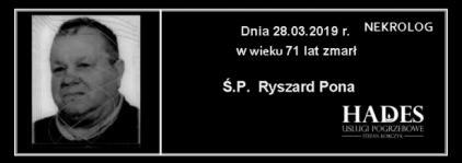 Ś.P. Ryszard Pona