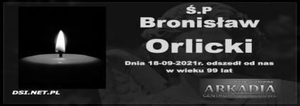 Ś.P. Bronisław Orlicki