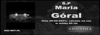 Ś.P. Maria Góral