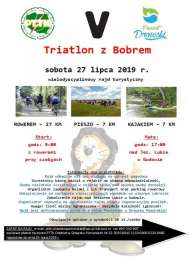 2019-07-27 Triathlon z Bobrem