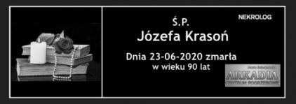 Ś.P. Józefa Krasoń