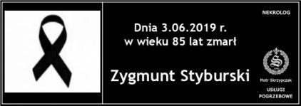 Ś.P. Zygmunt Styburski